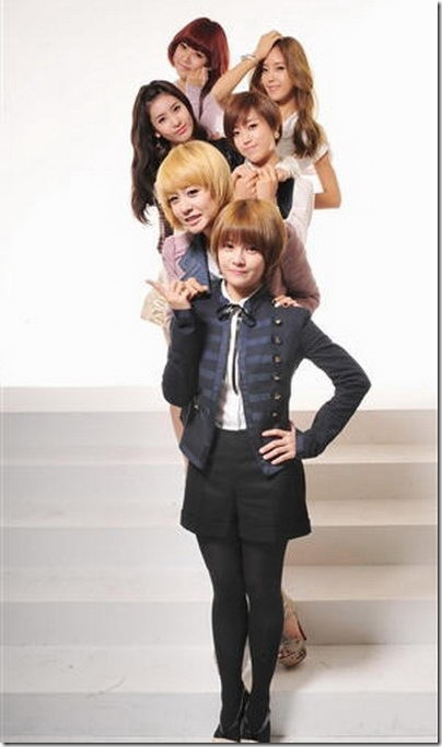 ทรงผมสั้นเกาหลีๆ แบฮิตๆแนวๆ  2NE1 T-Ara 4minute กะ Brown Eyed Girls