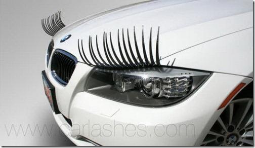 ขนตาปลอม แฟชั่นแต่งตัวเพื่อรถน่ารักของคุณ