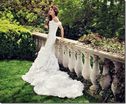ชุดแต่งงาน ลูกสาว Ralph Lauren